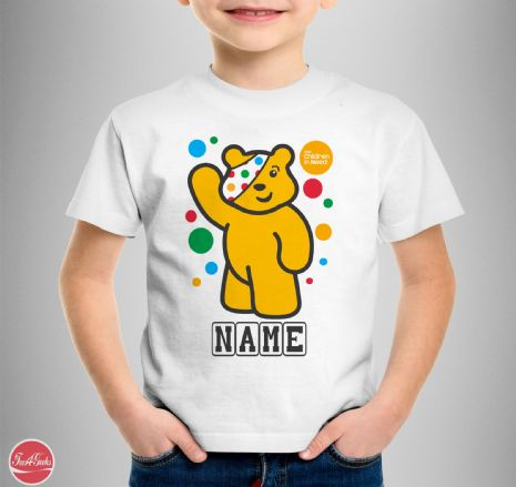 CHILDREN IN NEED PUDSEY  T-shirt